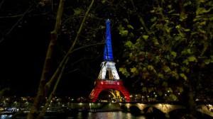 Eiffeltoren na de aanslagen